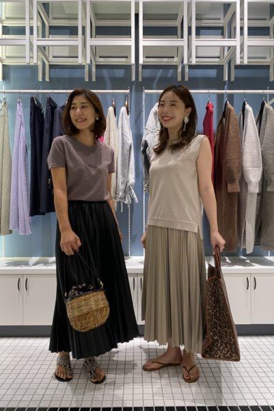 アラ50代表バイヤーSと、アラ30代表銀座店店長Suzuでお送りする  年代テイスト別リアルコーデ 夏編 動画