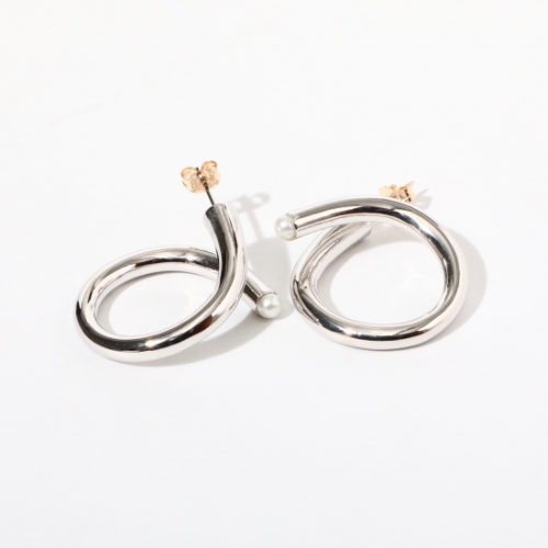 jour couture/【ringle.01】フープピアス/¥8,470+税