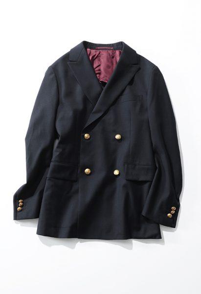 Scye×suadeo上質スタンダードなジャケットスタイル