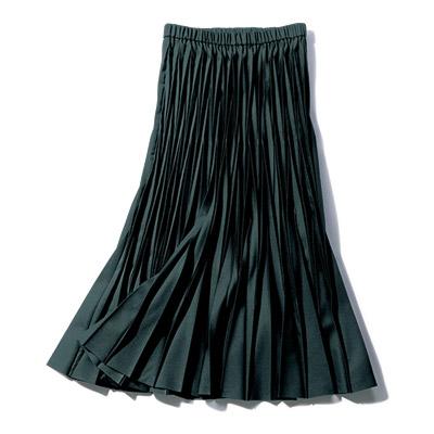 地曳いく子×eclat プリーツスカート