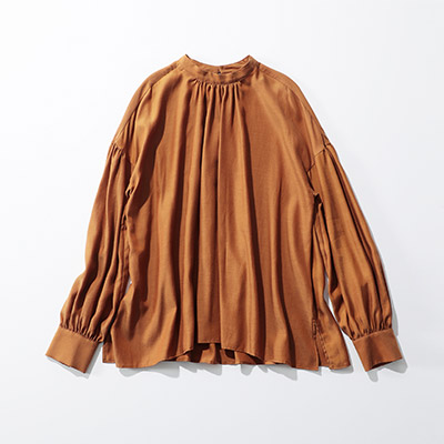MICA & DEAL st/n gather blouse