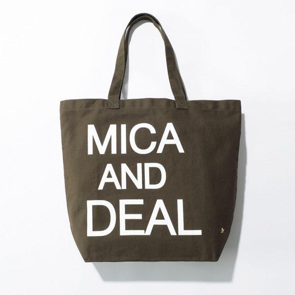 おしゃれでお手頃なエコバッグ! 『MICA & DEAL』とコラボレーション/エコバッグ