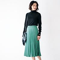 プリーツギャザースカート/12closet