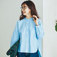 パラシュートボタンシャツ/Manna