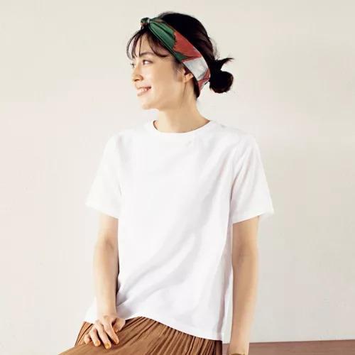 12closet/【洗える】Tシャツ風ブラウス/¥8800