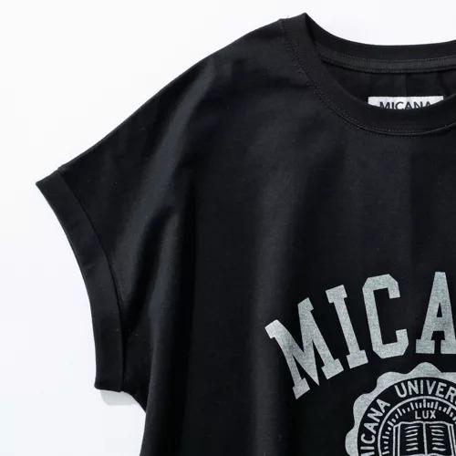 MICANA/【AMERICANA】×【MICA&DEAL】カレッジロゴTシャツ/¥8,000+税
