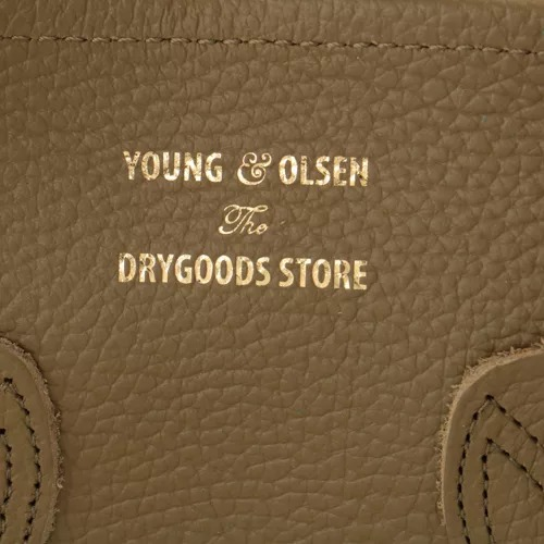 YOUNG & OLSEN The DRYGOODS STORE EMBOSSED LEATHER TOTE (SIZE L) イメージ1