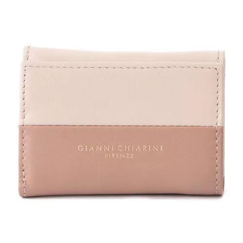 GIANNI CHIARINI/【WALLETS ROSETTA】バイカラー三つ折りレザーミニ財布/¥16,000+税