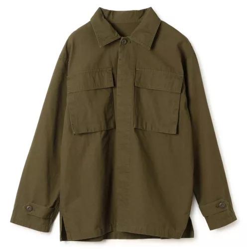 suadeo【使える】ミリタリーシャツジャケット¥13,000+税  → ¥6,500+税(50%OFF)