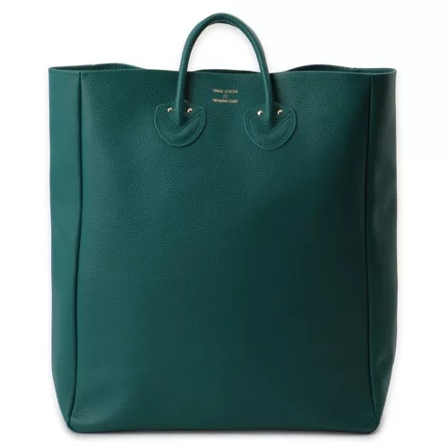 YOUNG & OLSEN The DRYGOODS STORE EMBOSSED LEATHER TOTE (SIZE L) ¥34,000 + 税