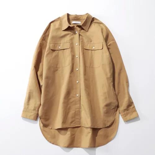 suadeo 【Herdmans】クラシックバイオスラブビッグシャツ ¥18,000+税