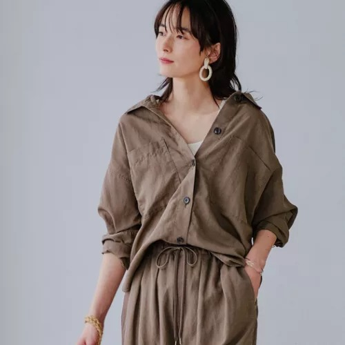UNITED ARROWS green label relaxing/SC LY/LI/P ワーク シャツ ジャケット/¥7,900 →¥3,160+税(60%OFF)