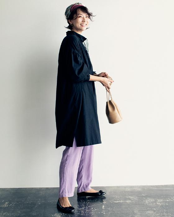 ネルシャツ ロング/The Duchess Designs