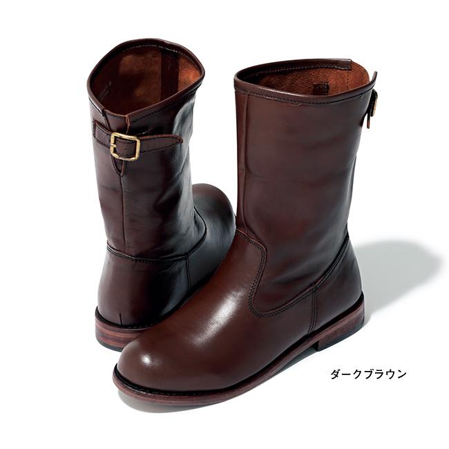 エンジニア風ブーツ ダークブラウン/LOISIR