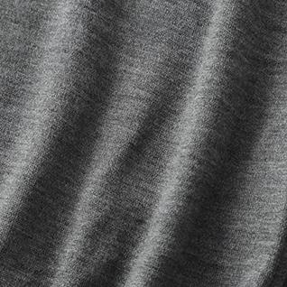 30G メリノウール天竺スーパーハイゲージ クルーネック イメージ1