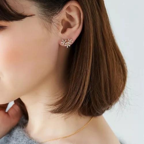 Phoebe/フラワーガーデンカフイヤリング/¥3,300+税