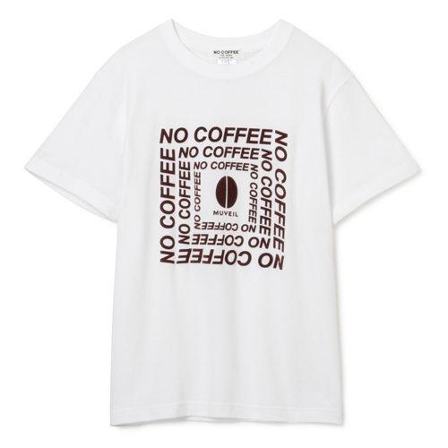 MUVEIL/【MUVEIL】×【NO COFFEE】NCスクエアロゴTシャツ/¥5,500+税