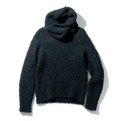 intoca.(イントゥーカ) ネックウォーマーつきセーター