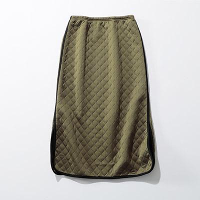 FLORENT ミリタリーキルトWAVEスカート