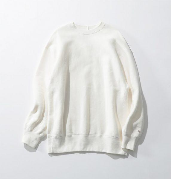 特別な編み機で作った生地がポイント!/marmors loose sweat p/o