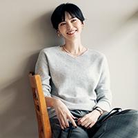 カシミヤ前後2WAYニット/enrica