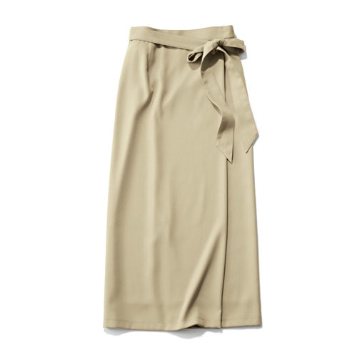 M7days ストレッチラップ風スカート ¥16,000+税