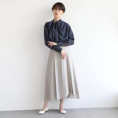 DRESSTERIOR(Ladies)/シルクボーブラウス/¥28,000+税