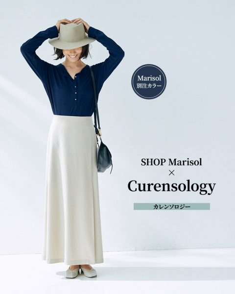 SHOP Marisol × Curensology/カレンソロジー