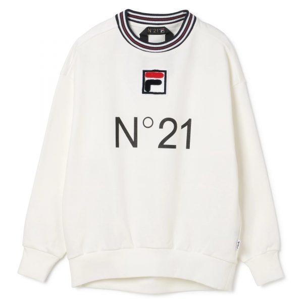 N°21×FILA 【N°21xFILA】プルオーバー ¥29,000+税