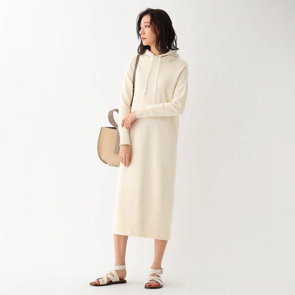 DRESSTERIOR(Ladies)/吊裏毛 ライトパーカーワンピース /¥22,000+税