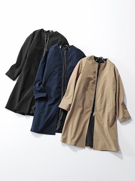 suadeo 【手洗い可】TAIONコラボ 新インナーダウン付3WAYコート ¥13,000+税