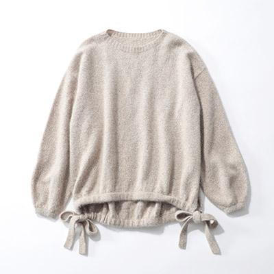 suadeo 佐藤繊維コラボレーション【究極】のクルーネックセーター