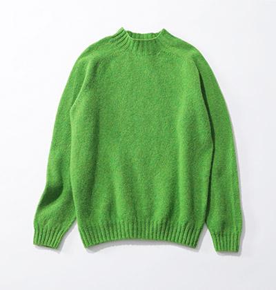 suadeo 【Harley】コラボレーション オーバーサイズモックネックセーター