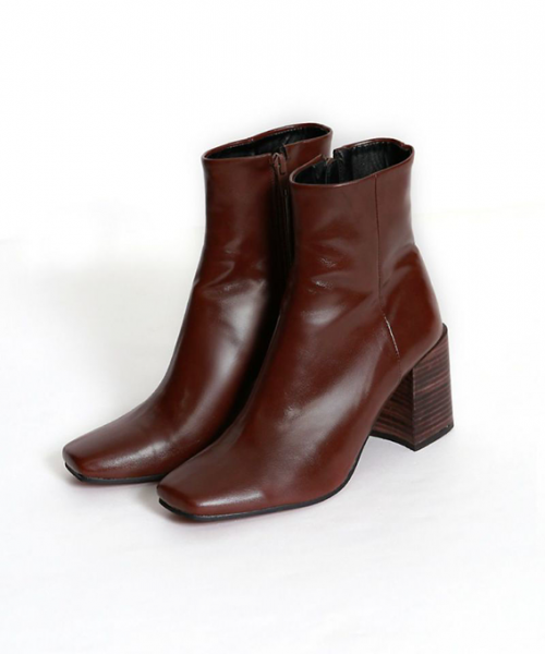 marjour/ECO LEATHER BOOTS/¥9,800+税