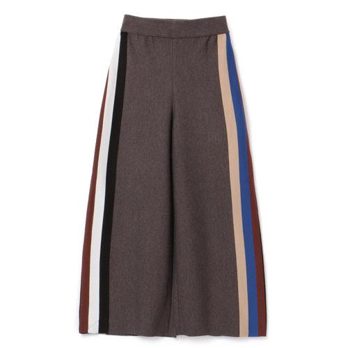 AKIRANAKA/ Ottilie knit pants/¥39,000+税