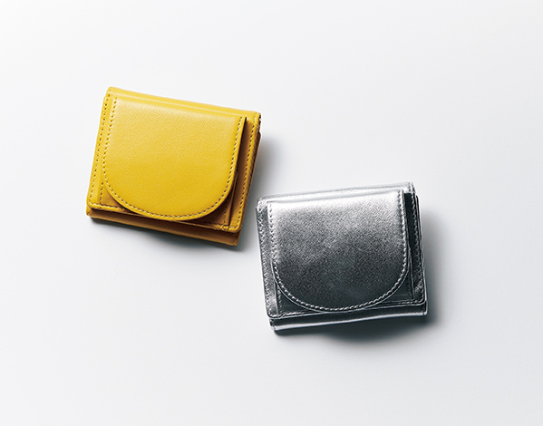B5きらきらポーチ付き 三つ折り財布/12closet