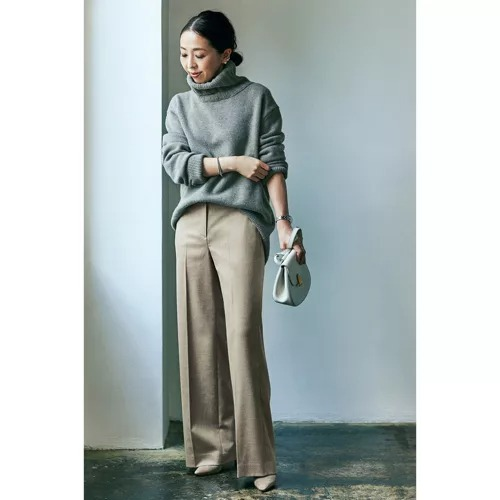 Theory luxe 【美女組bemiさんコラボ】ストレートパンツ ¥32,000+税