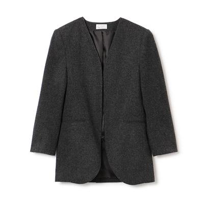 M7days 【松村純子さんコラボ】ノーカラージャケット