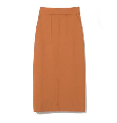 M7days for office(エムセブンデイズ フォー オフィス) 細見えストレートスカート