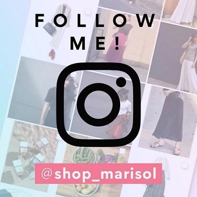 雑誌『Marisol』のオンラインショップ Instagramアカウント