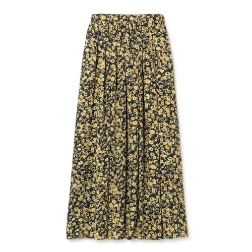 M7days フラワープリントスカート ¥16,500+税