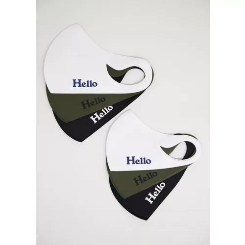 MADISONBLUE HELLO MASK (3色セット) ¥4,500+税