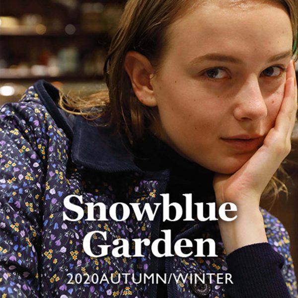 """""""Snowblue Garden (スノーブルーガーデン)""""イメージビジュアル"""
