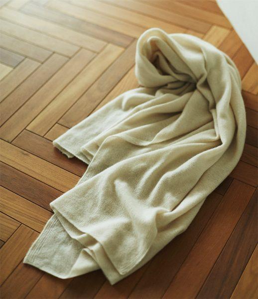 suadeo 【福田麻琴さんコラボ】【洗うほどに育つ】天使のカシミヤストール