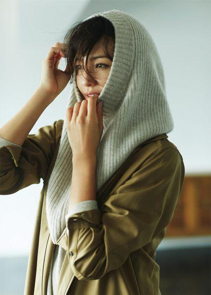 こうも着られる!:かぶったらお茶目で可愛いく暖かい!カグール活用法
