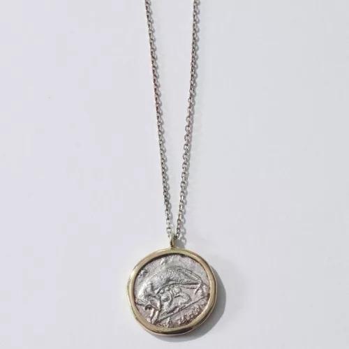 GIGI(ジジ) Roman coin necklace ¥48,000+税