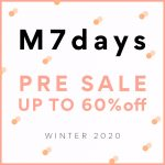 "<span class=""title"">\MAX60%OFF/""M7days"" PRE SALE!!</span>"