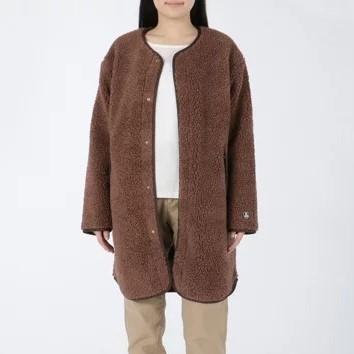 ORCIVAL ウールボアロングジャケット ¥22,800+税