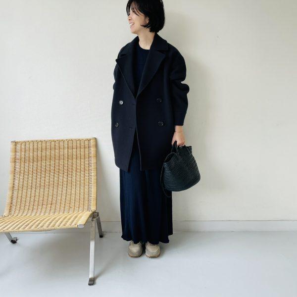 M7days 【編集部と考えました!】ワイドリブフレアワンピース ¥18,000+税