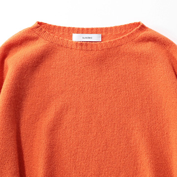 suadeo/【スタイリスト玄長なおこさん×佐藤繊維】カシミア混ホールガーメントセーター/¥18,000